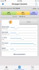 Mortgage Calculator For Iphone By Zyablikon Ios United States