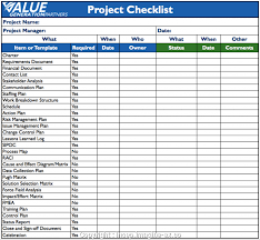 Project Management Checklist Template Excel Project Management Checklist Template Excel New Construction