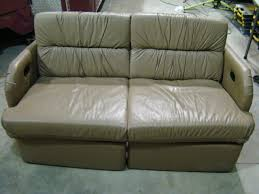 RV Parts USED RV FURNITURE FOR SALE LEATHER SOFA JACK KNIFE FLIP