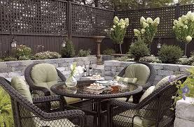 wood fence outdoor furniture sets