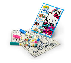 Pypus is now on the social networks, follow him and get latest free coloring pages and much more. Color Wonder Mess Free Coloring Pad Markers Hello Kitty Crayola