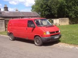 vw t4 transporter campervan dlva registered camper 2003 lwb red