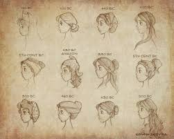 Ancient Roman Hair Style ancient greek womens fashion womens hairstyles and accesories 4578 by wearticles.com
