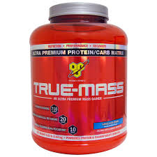 bsn true m ultra premium protein carb matrix vanilla ice cream