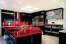 red kitchen countertops black granite kitchen with granite retro red kitchen countertops