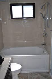 bathtub shower combo with window ideas