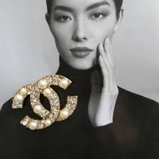 jewels chanel brooch fashion jewelry chanel designer inspired replica