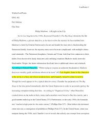 eng sample essay historical studies last 1student last eng 102prof boltondue date philip marlowe