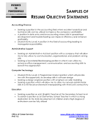 Sales Resume Objective Examples career objective examples for resume for fresher Job and Resume 87