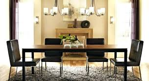 chandelier height above table dining table chandelier height impressive ideas dining room chandelier height