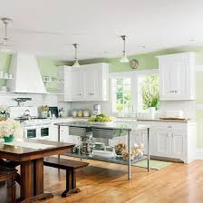 kitchens with white cabinets and green walls.  Cabinets Kitchens With Green Walls For Best 25 K 47602 To White Cabinets And B