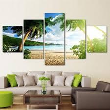 tropical beach multi panel canvas wall art on large multi panel canvas wall art with tropical beach multi panel canvas wall art elephantstock