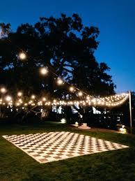 R Photo 3 Of 4 Wedding Dance Floor Ideas Ordinary Outdoor Lighting Great  Pictures