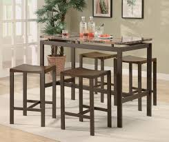 image of counter height bar table wood