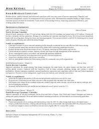 fast food cook resumes food and beverage resume template 31681 life unchained