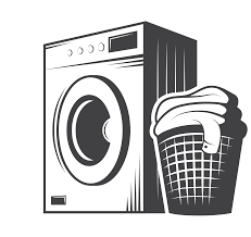 laundry clipart black and white.  White Clip Transparent Cleaning Art Washing Machine Transprent Jpg Black  And White  On Laundry Clipart Black And White N