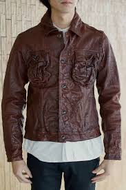 indian motorcycle indian motorcycle jacket goat leather wash processing