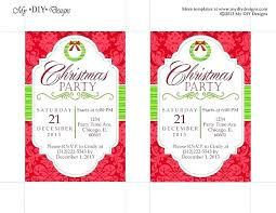 Christmas Invitation Template Magnificent Party Invitation Template For Word Saleonline