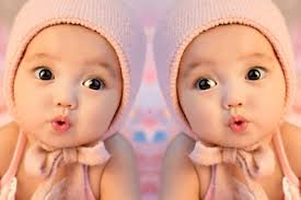 Image result for cute twins baby