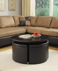Good Woodbridge Home Designs Rowley Gas Lift Coffee Table With Ottomans Great Pictures