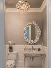 Powder room lighting Ceiling Powder Room Ideasi Love The Wainscoting Wall Paper And Light Fixture Simple And Elegant Pinterest Ways To Give New Life To Old Ceilings Bathrooms Bathroom