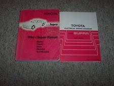 toyota supra repair manual ebay 1995 Toyota Supra Wiring Diagram Manual Original 1986 toyota supra shop service repair manual & electrical wiring diagram book Toyota Supra Ignition Wiring Diagram