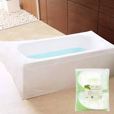 practical plastic bathtub liner com tfy ultra large disposable lining bags for