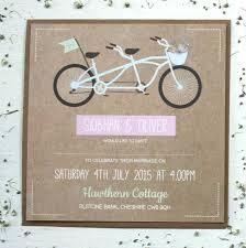 tandem bike wedding invitation bundle by rodo creative Wedding Invitations On The High Street tandem bike wedding invitation wedding invitations not on the high street