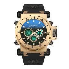 Luxury <b>STRYVE Brand Men</b> Sports Watches Dual Time Quartz ...