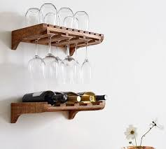 Wall wine racks Wrought Iron Harlow Wallmounted Wine Storage Pottery Barn Harlow Wallmounted Wine Storage Pottery Barn