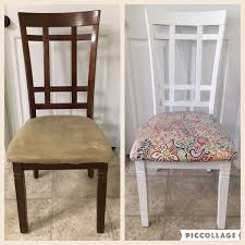 kid proof your dining chairs with removable vinyl covers that wipe clean