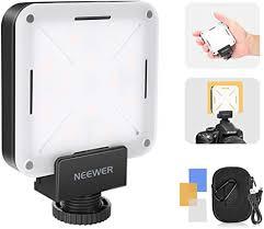 Neewer <b>Mini LED</b> Video Light <b>Pocket</b>-size On-camera Video ...