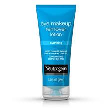neutrogena hydrating eye makeup remover lotion 3 oz
