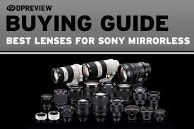 Lens Design A Practical Guide Pdf Buying Guide The Best Lenses For Sony Mirrorless Cameras