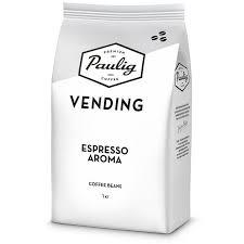 <b>Paulig Vending Espresso</b> Aroma, <b>кофе</b> в зернах 1 кг — купить в ...