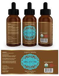 Argan Oil Label Template Design