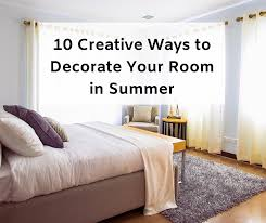 10 creative ways to decorate your room