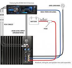 impressive bazooka wiring harness diagram bazooka speaker wiring diagram wiring diagram database