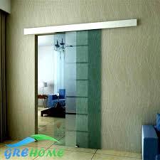 interior frameless glass door. Aluminium Alloy Frameless Barn Sliding Glass Door System Interior