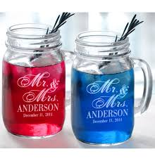 personalized drinking glasses. Fine Drinking Mr And Mrs Set Of 2 Personalized Wedding Mason Jars Drinking Mugs Throughout Glasses H