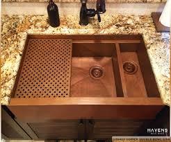double farmhouse sink. Perfect Double Caliber Copper Farmhouse Sink  Dual Basin Intended Double C