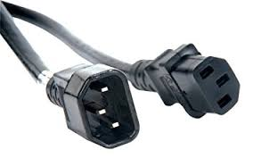 amazon com accu cable iec male to iec female power link cable accu cable iec male to iec female power link cable eccom 3