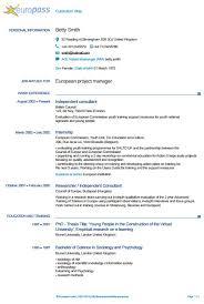 Resume Format in America
