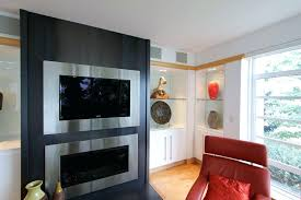 fireplace flat screen tv recessed over fireplace flat screen tv above electric fireplace