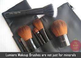 lumiere cosmetics makeup brushes