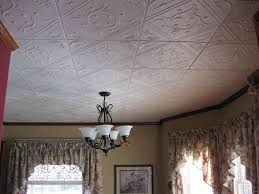 image of modern decorative drop ceiling tiles