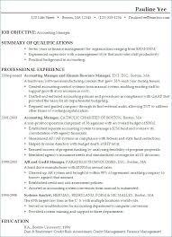 Accounting Manager Resume New Volunteer Coordinator Resume
