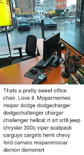 dodge viper office chair. 25 Best Memes About Office Chair Dodge Viper