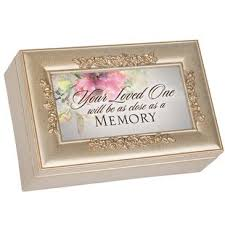 sympathy bereavement decorative box