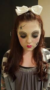 ed porcelain doll makeup